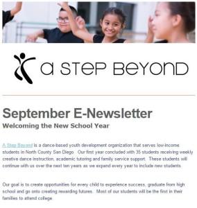 Sept 2015 Newsletter